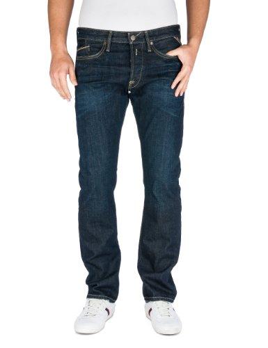 Replay Herren Straight Leg Jeanshose Waitom M983, Blau (7), W29/ L32 (Herstellergröße: 29) thumbnail