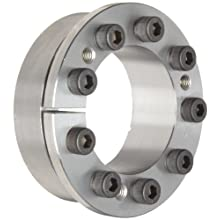 "Lovejoy 1450 Series Shaft Locking Device, Inch, 2-7/16"" shaft diameter, 3.740"" Outer Diameter of Shaft Locking Device, 1814 ft-lb Maximum Transmissible Torque"