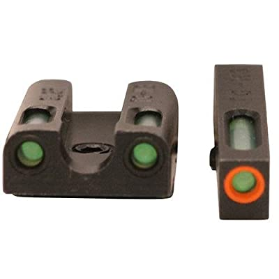 TRUGLO TFX Pro Tritium and Fiber Optic Xtreme Hangun Sights for Glock Pistols from TRUGLO