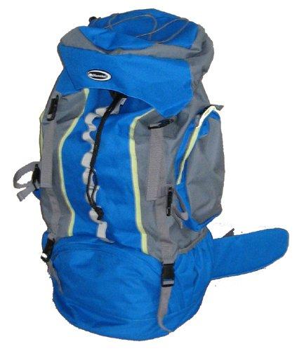 Rucksack 75 Liter Trekking blau 75L