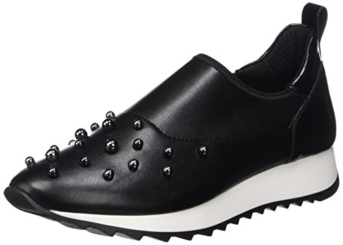 Cult Cream, Scarpe Low-Top Donna, Nero (Black/Black), 40 EU