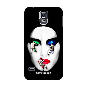 HomeSoGood Professional Painters Black 3D Mobile Case For Samsung S5 ( Back Cover)