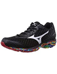 Mizuno 2016 SS Women Wave Rider 19 Osaka Marathon Running Sneaker Shoes J1GD160870 Black