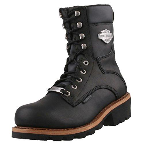 Harley Davidson, Stivali uomo Nero nero, Nero (nero), 40 EU
