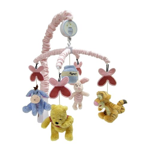 Disney Pooh Musical Mobile Delightful Day