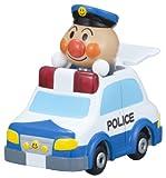 Anpanman vehicles and police cars working Anpanman Museum GOGO minicar (japan import)