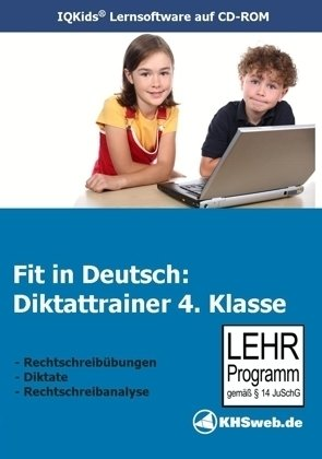 Fit in Deutsch - Diktattrainer 4. Klasse Einzellizenz, PC