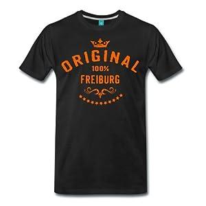 100% Original Freiburg RAHMENLOS® Städte T-Shirt von Spreadshirt