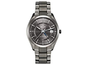 Rado HyperChrome XL Grey Dial Grey Ceramic Bracelet and Case Mens Watch R32165102