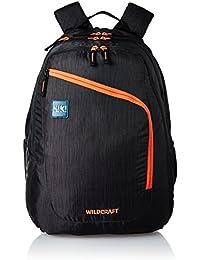 Wildcraft Polyester 46 Ltrs Black School Backpack (Wiki 8 Hue 8)