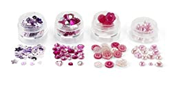 Martha Stewart Crafts Pink Findings
