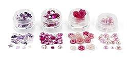 Martha Stewart Crafts Pink Findings