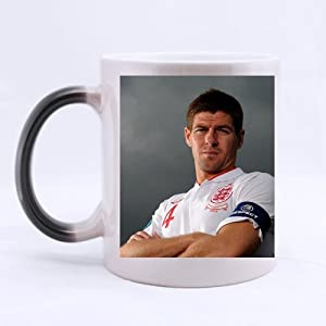 Steven Gerrard Popular Soccer Player Custom Morphing Mug, Fantasy Color-Changing Mug from YCD_diy