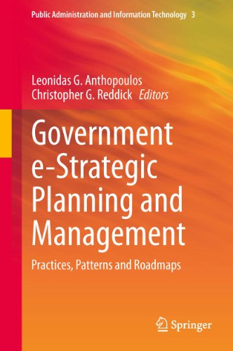 Leonidas G. Anthopoulos  Christopher G. Reddick - Government e-Strategic Planning and Management