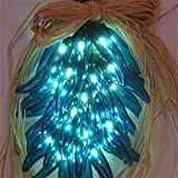 Chili Pepper Ristra Lights - Turquoise