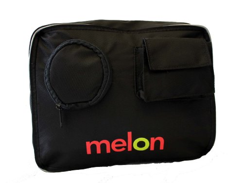 Melon Bicycles 5001506 Folding Bicycle Carry Bag, Black