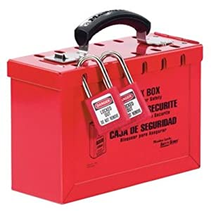 Master Lock Standard Group Lock Box for Lockout/Tagout: Industrial
