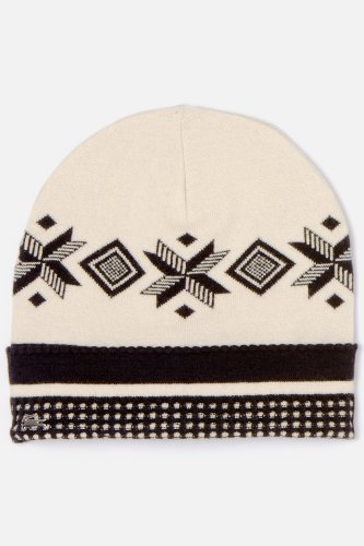 Women's Metal Croc Patterned Knit Cap