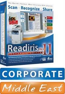 Readiris Pro 11 Corp. Ed. (Middle East For Pc)