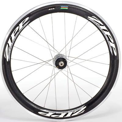 Zipp 2011 404 Firecrest Carbon Clincher Road Bicycle Wheelset - 700C (Shimano)