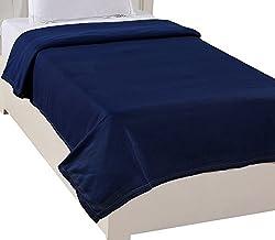 Warmland Polar Fleece Double Blanket - Blue