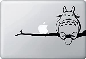 Totoro on Branch Apple Macbook Vinyl Decal Laptop Sticker Skin