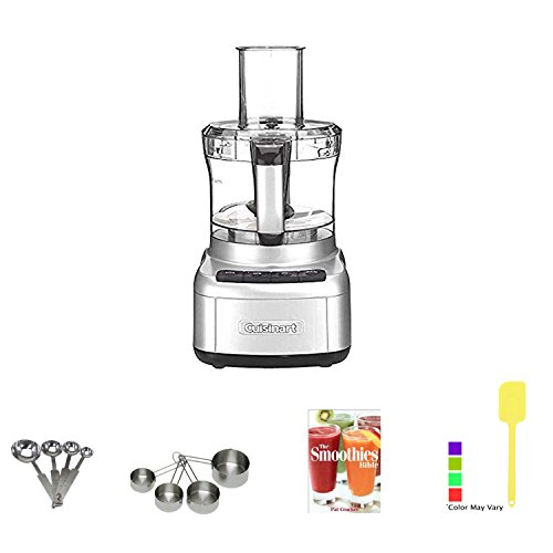 Cuisinart Elemental 8 Cup Food Processor (Silver) with Kitchen Accessory Kit