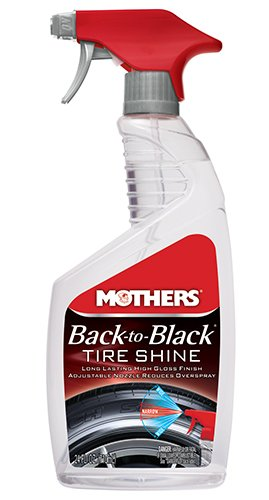Mothers 06924 Back-to-Black Tire Shine – 24 oz