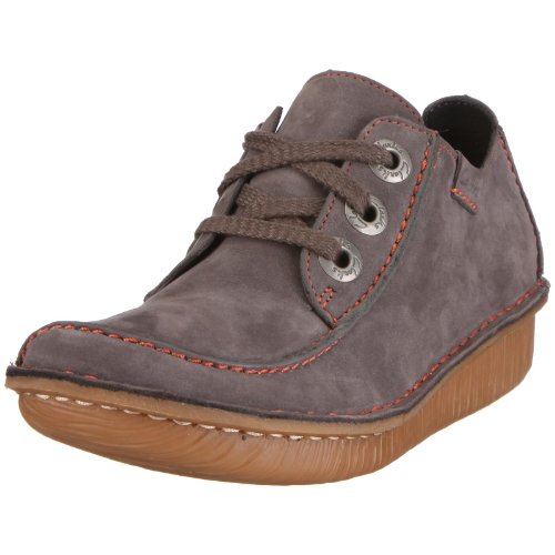 Clarks Funny Dream, Women's Lace-Up Shoes - Grey, 35.5 EU