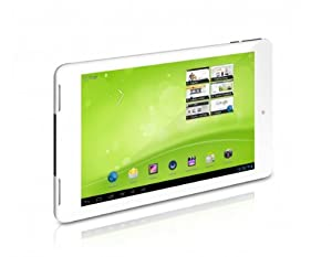 TrekStor SurfTab ventos 7.0 HD 17,8 cm (7 Zoll) Tablet-PC (Qualcomm, 1,4GHz, 1GB RAM, 8GB HDD, Mali-400 MP (400MHz, 4-Core), Android OS) weiß