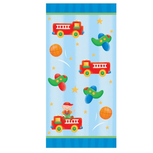 Trains and Planes Cello Bags Party Accessory
