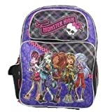 Monster High Sac Dos Pour L Cole Grande 40cm Skullette Sunset