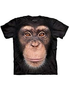 Chimp Face The Mountain Kinder T-Shirt XL
