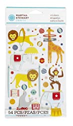 Martha Stewart Crafts Circus Animal Stickers
