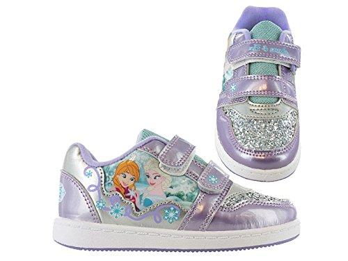 Disney Frozen, Sneaker bambine Viola viola, Viola (viola), Bambino 30 EU