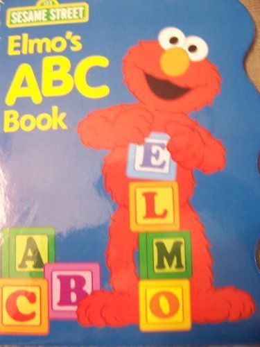 Sesame Street Elmo's ABC Book (Shaped Hardcover Book) (2011) - 1