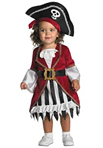 Toddler Girl Pirate Costume from Disguise