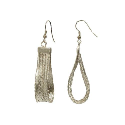 Silver Grecian Earrings