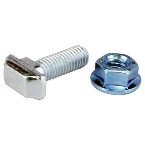 80/20 Inc 45 Series 75-3635 M8 x 25mm Drop-In T-Slot Stud with Flanged Hex Nut