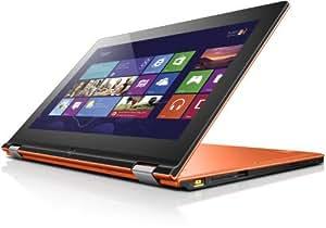Lenovo Ideapad Yoga11 29,5 cm (11,6 Zoll) Convertible Tablet-PC (NVIDIA Tegra T30, 1,4GHz, 2GB RAM, 64GB eMMC, NVIDIA GFX, Touchscreen, Win RT) orange