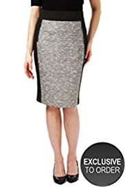Twiggy for M&S Woman Tweed Pencil Skirt