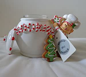 Yankee Candle 2011 Holiday Elf and Cookie Jar Tea Light Holder