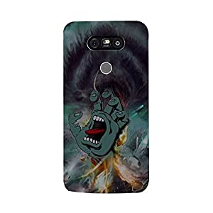 Skintice Designer Back Cover with direct 3D sublimation printing for LG G 5