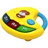 Ver-Baby Childrens Kids Activity Table Center Electronic Piano Mini Musical Toddler Playset Giving Hours Of Fun