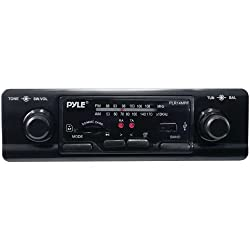 See PYLE PLR14MPF Single-DIN In-Dash Shaft-Style Mechless Receiver Details