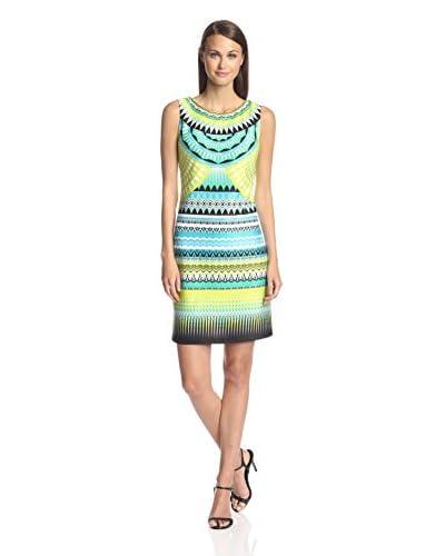 Sandra Darren Women's Printed Sheath Dress