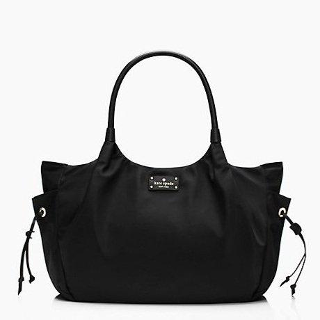 Kate Spade New York Union Square Stevie Baby Bag Black front-465738