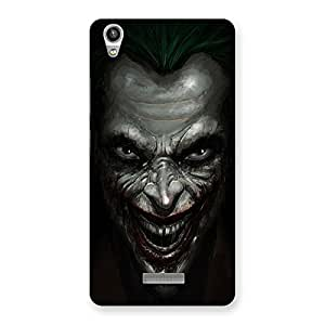 Delighted Mad face Multicolor Back Case Cover for Lava-Pixel-V1