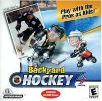 BRAND NEW Humongous Entertainment Backyard Hockey 30 Teams Included 8 Different Ice Rinks Award-Winning