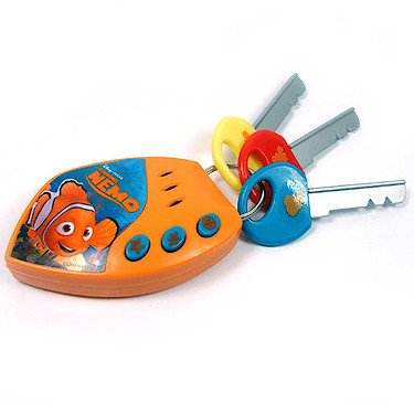 Disney Finding Nemo Toy Car Alarm Key Set with Sounds - 1